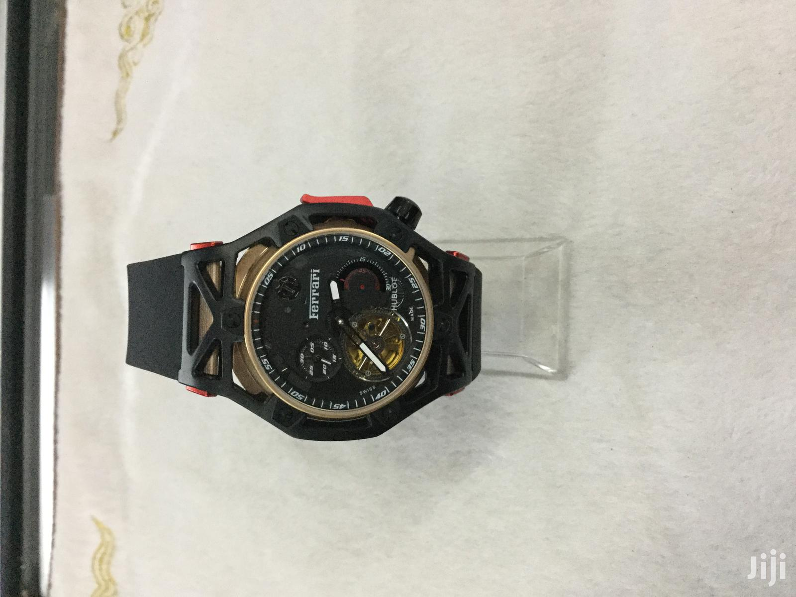 Archive: Hublot Ferrari Mechanical Watch in Stock Pay on Delivery
