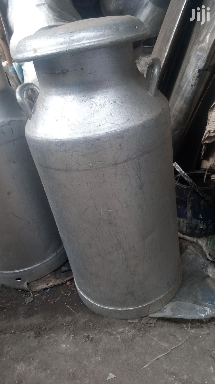 Hard Aluminium 50litre Milk Can