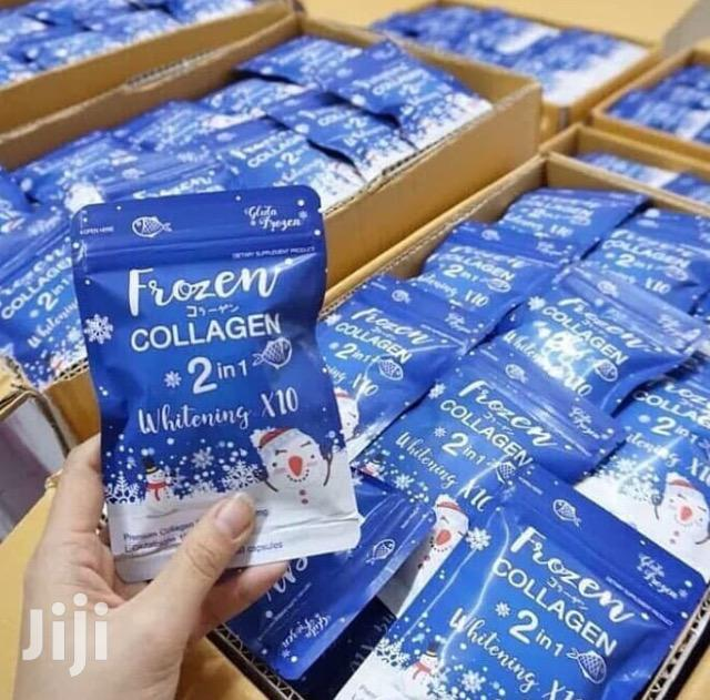 Frozen Collagen Glutathione Skin Whitening Capsules