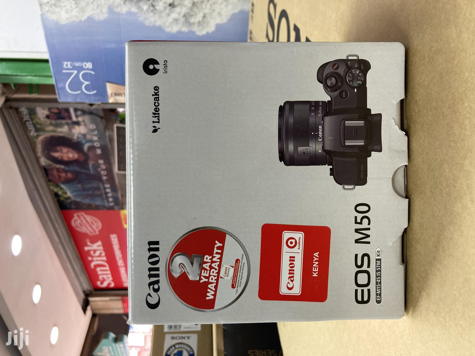 Canon EOS M50 | Photo & Video Cameras for sale in Nairobi Central, Nairobi, Kenya