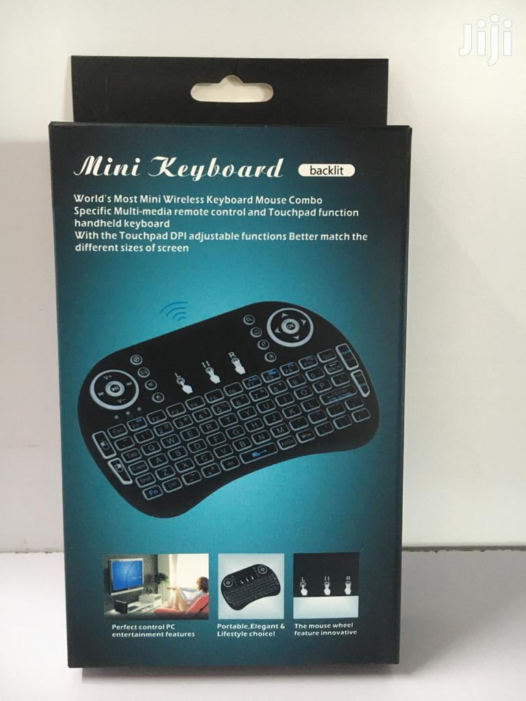Generic Wireless Mini Keyboard With Mouse Touchpad