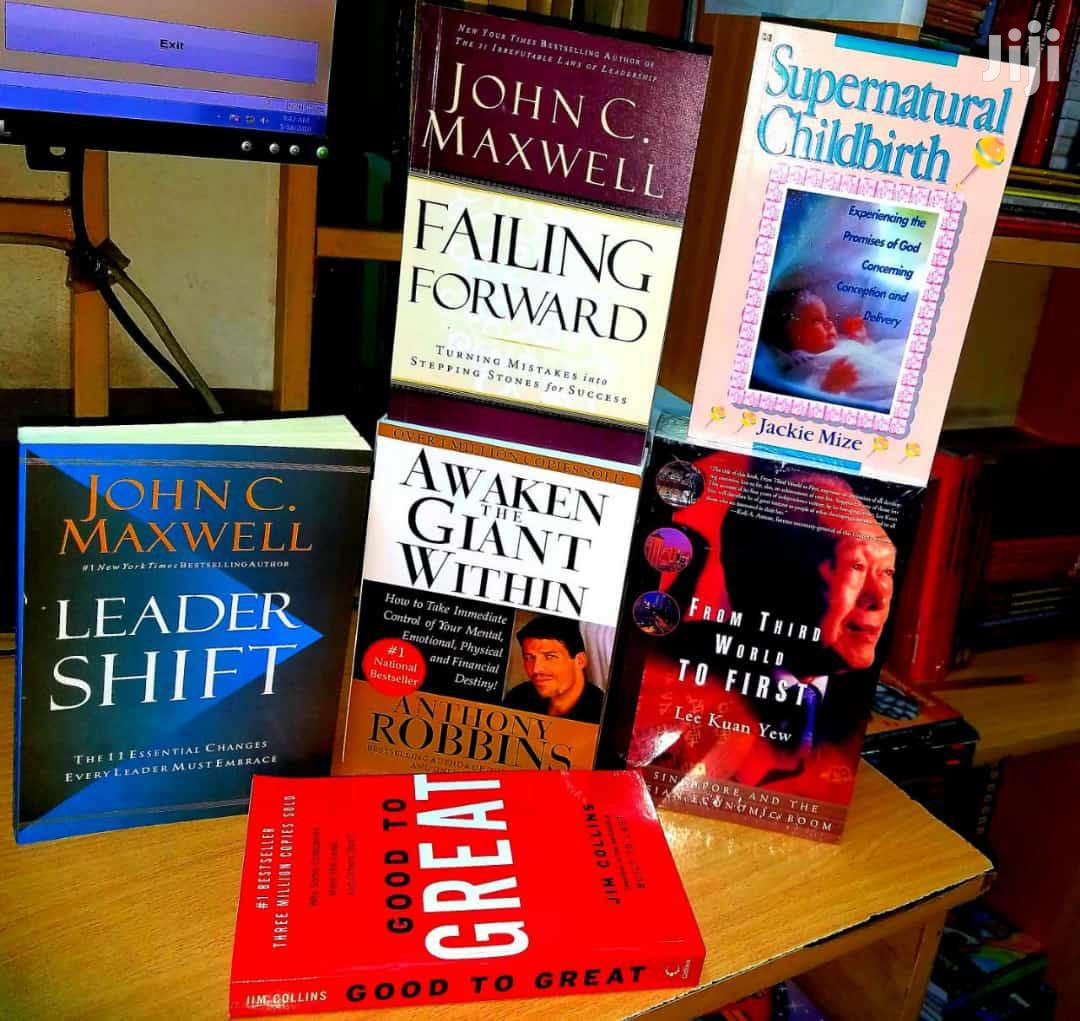 Books, Nonfiction Available For Both Rent And Sale.