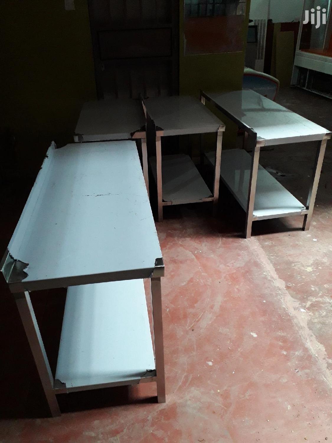 Archive: Stainless Steel Commercial Kitchen Tables