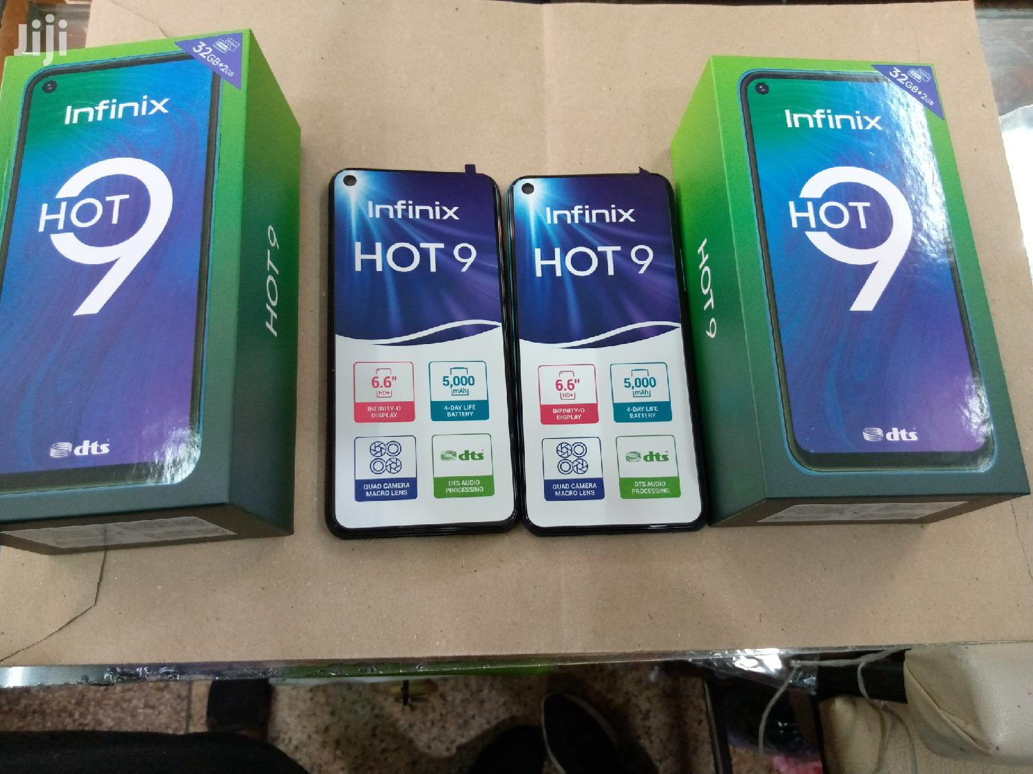 New Infinix Hot 9 32 GB Blue