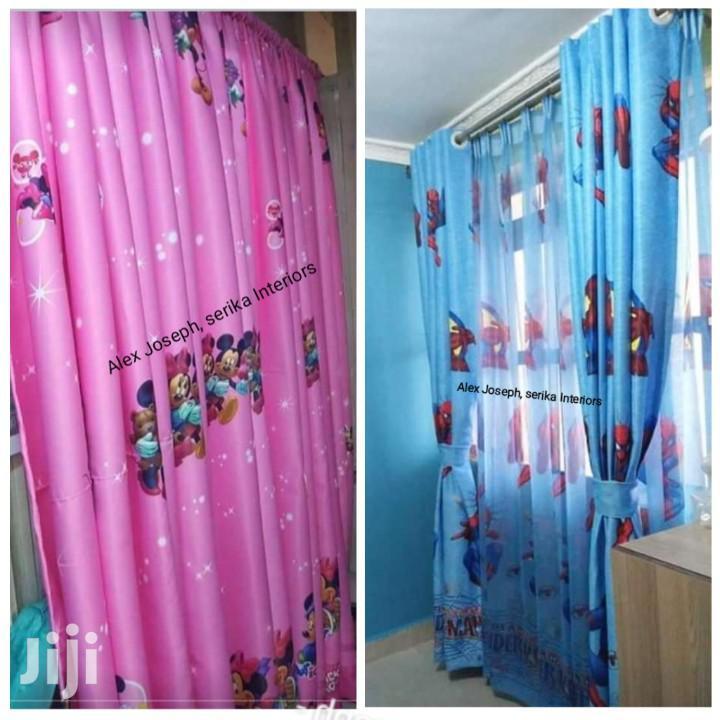 Cartoon Curtains