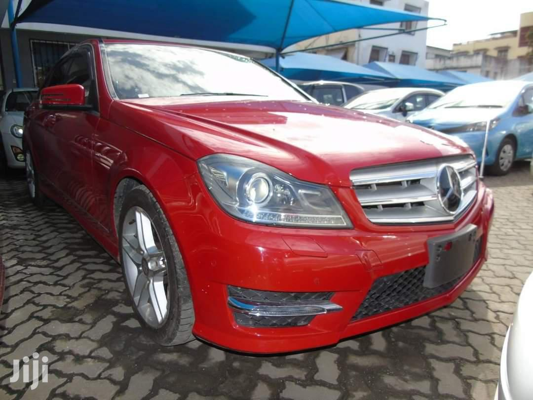 Mercedes-Benz C200 2013 Red   Cars for sale in Mvita, Mombasa, Kenya