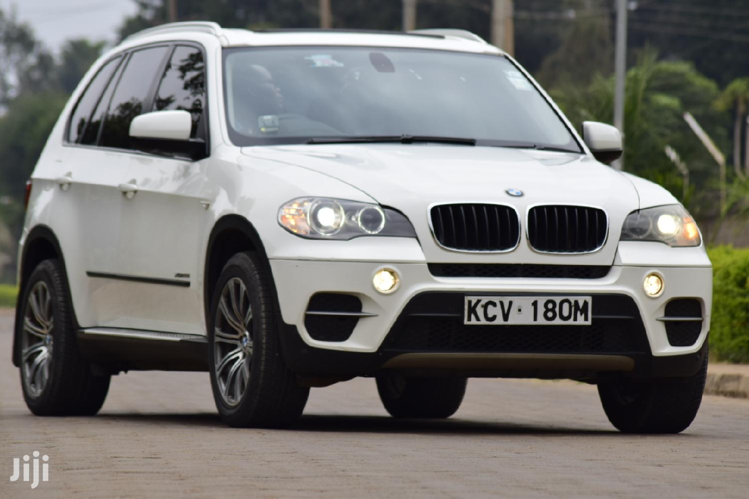 BMW X5 2012 White | Cars for sale in Runda, Nairobi, Kenya