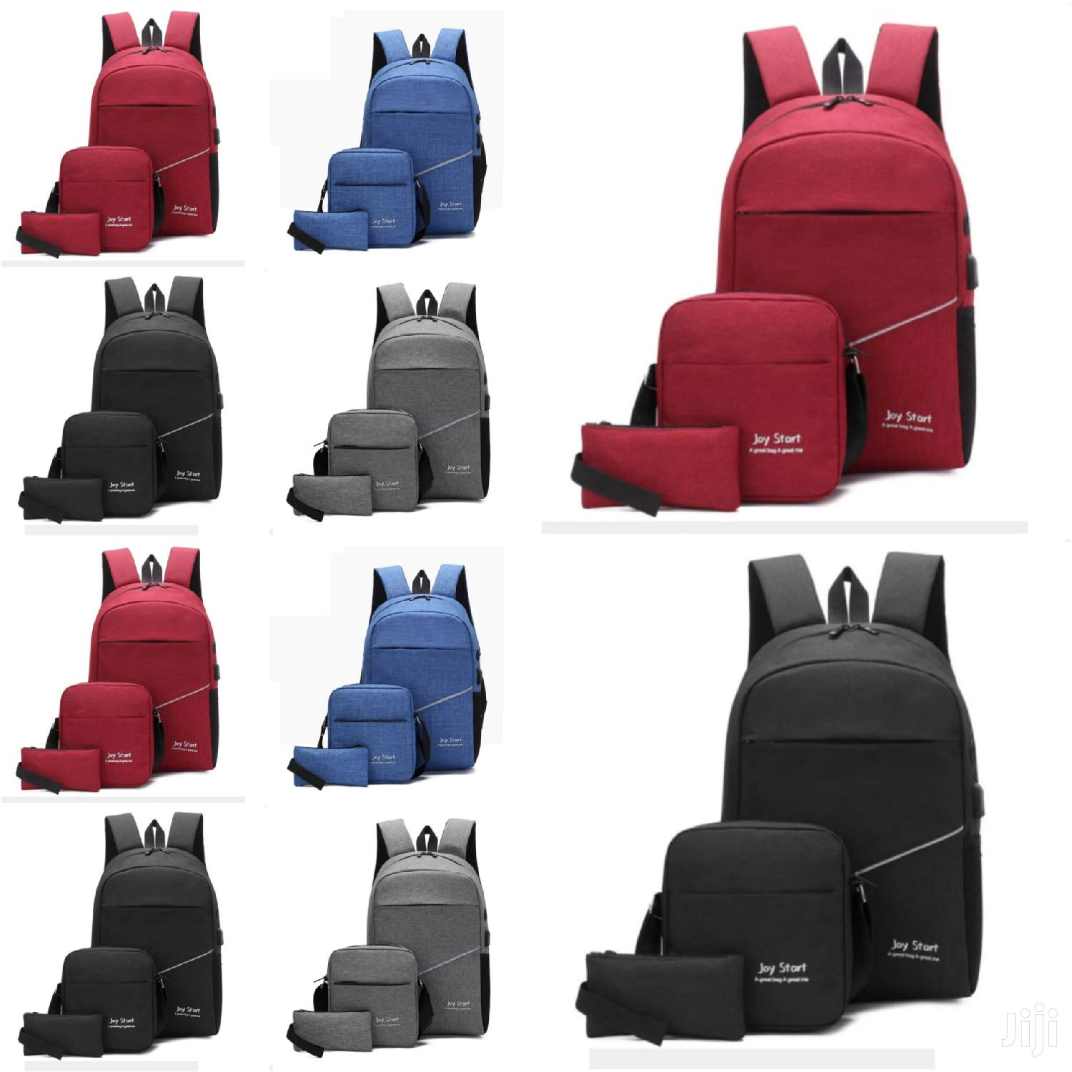 Different Colour Bagpack