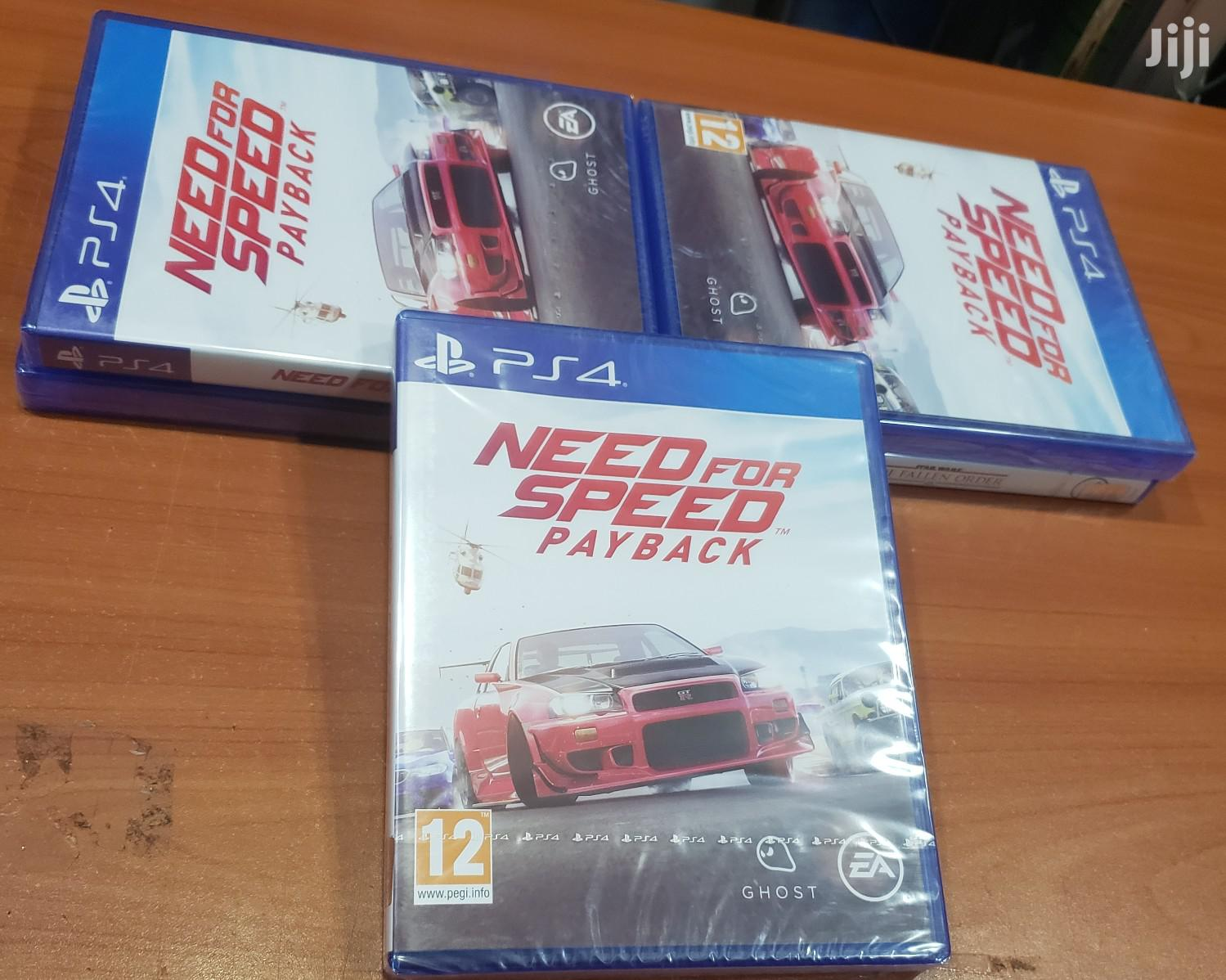 Ps4 Need for Speed Payback | Video Games for sale in Nairobi Central, Nairobi, Kenya