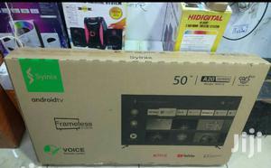 "New Syinix 50"" Inch Smart 4k Uhd Android Frameless Tv | TV & DVD Equipment for sale in Nairobi, Nairobi Central"