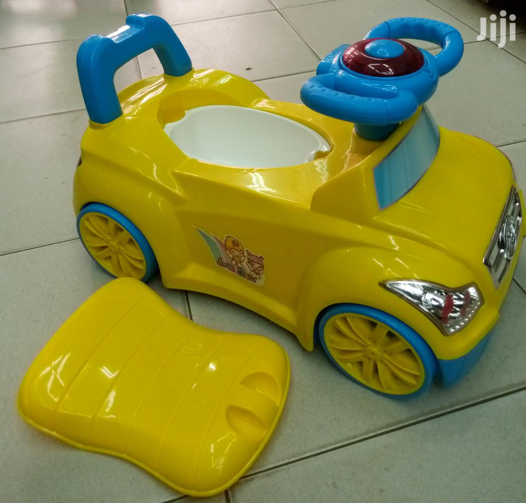 2 In 1 Potty And Ride On 2.5 Cc