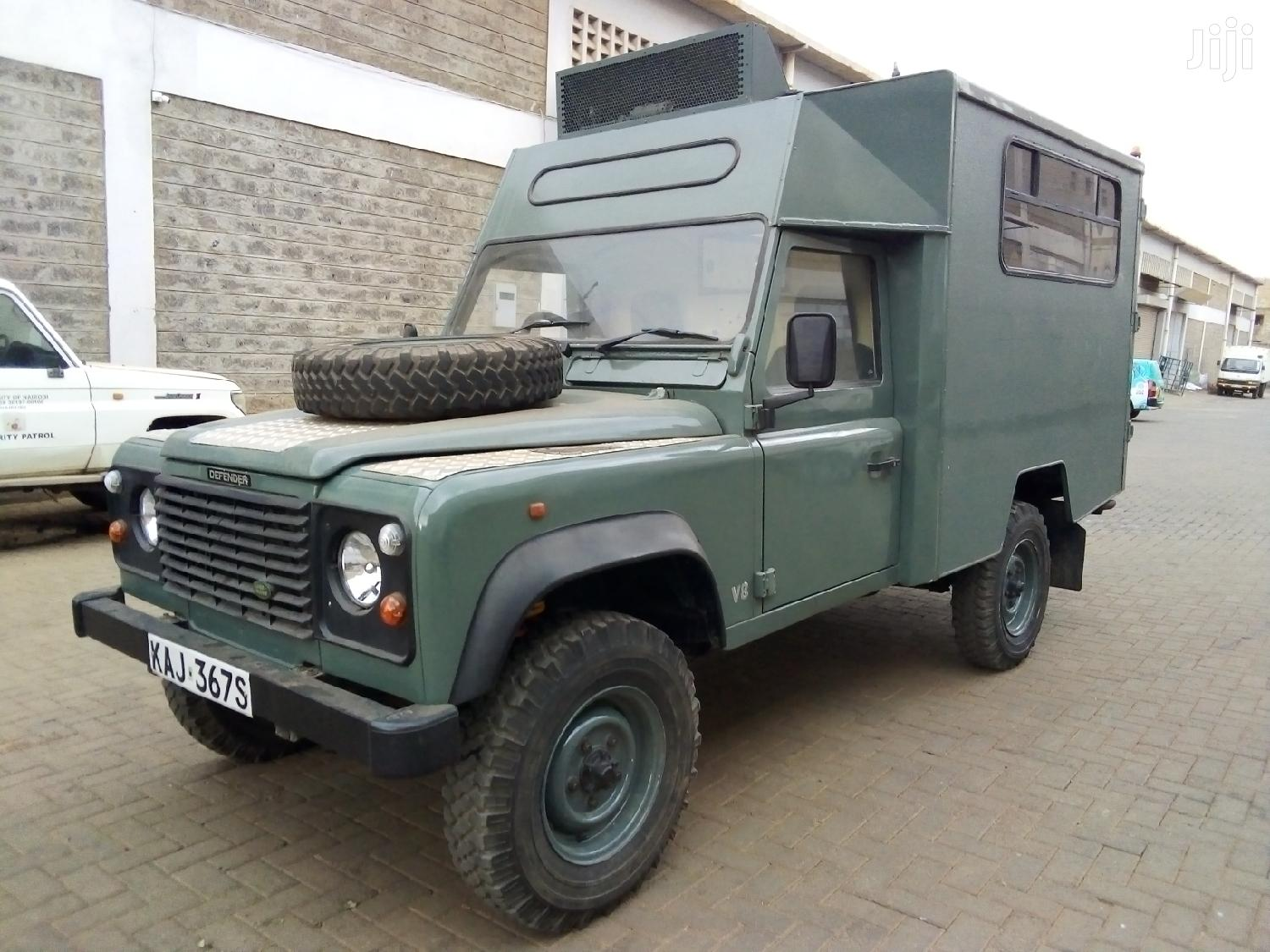 Archive: Land Rover Defender 2000 Gray