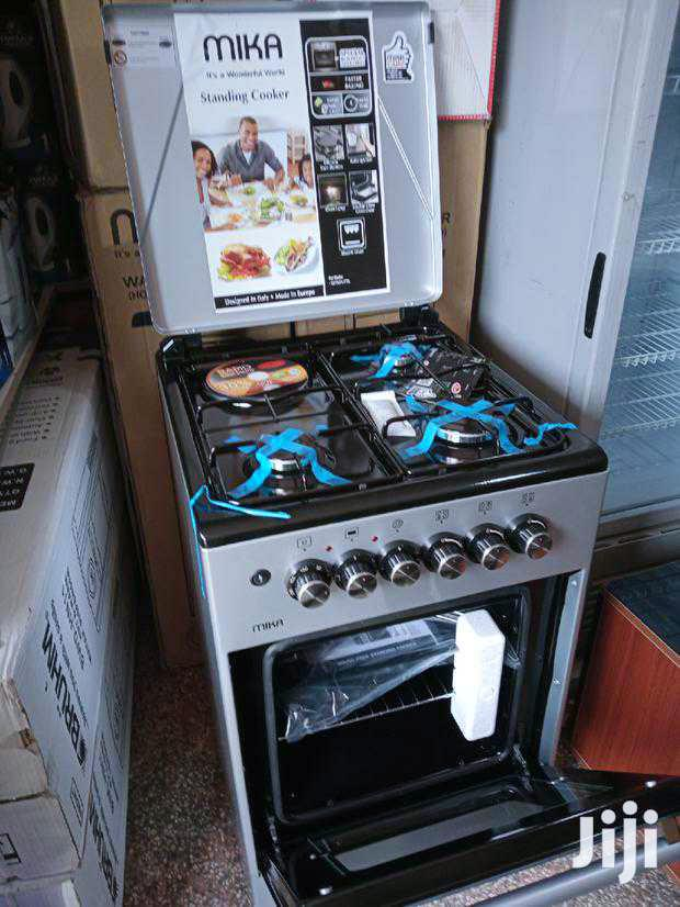 Archive: Mika Cooker 3 Gas+1 Electrical Burners
