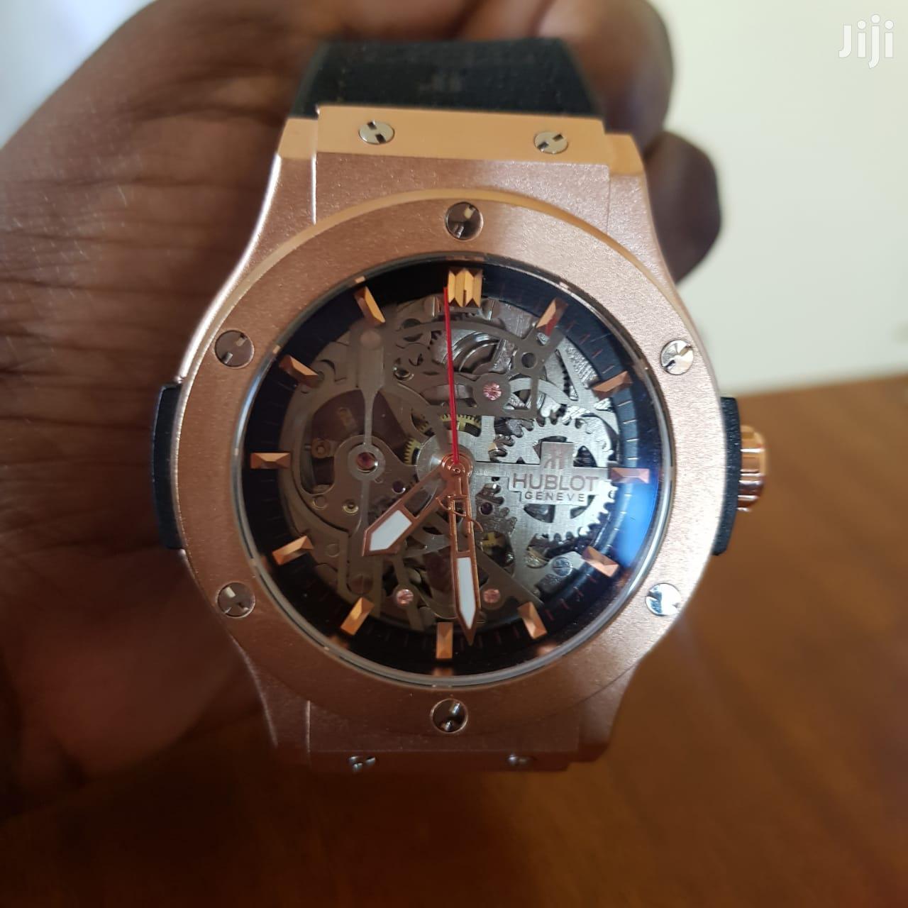 🔥HUBLOT ELEGANT Automatic Watch (Rosegold)🔥