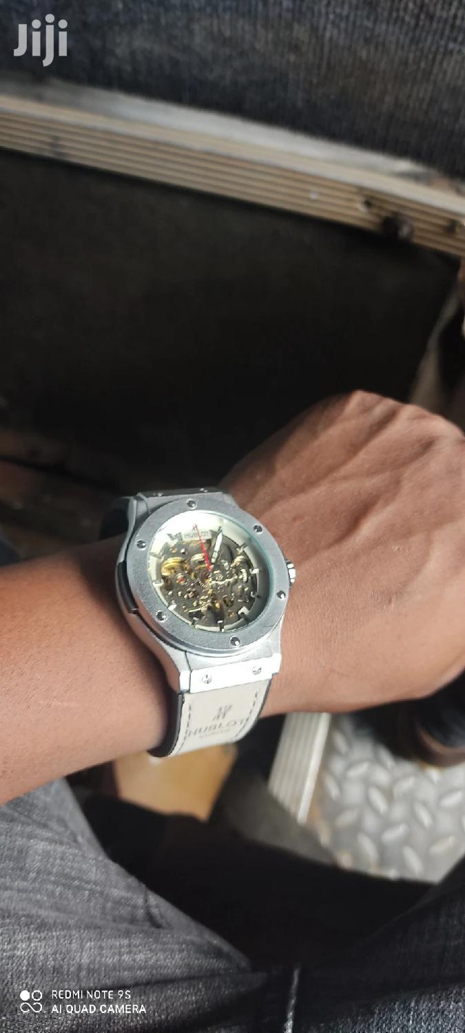 Hublot Grey And Silver Elegance