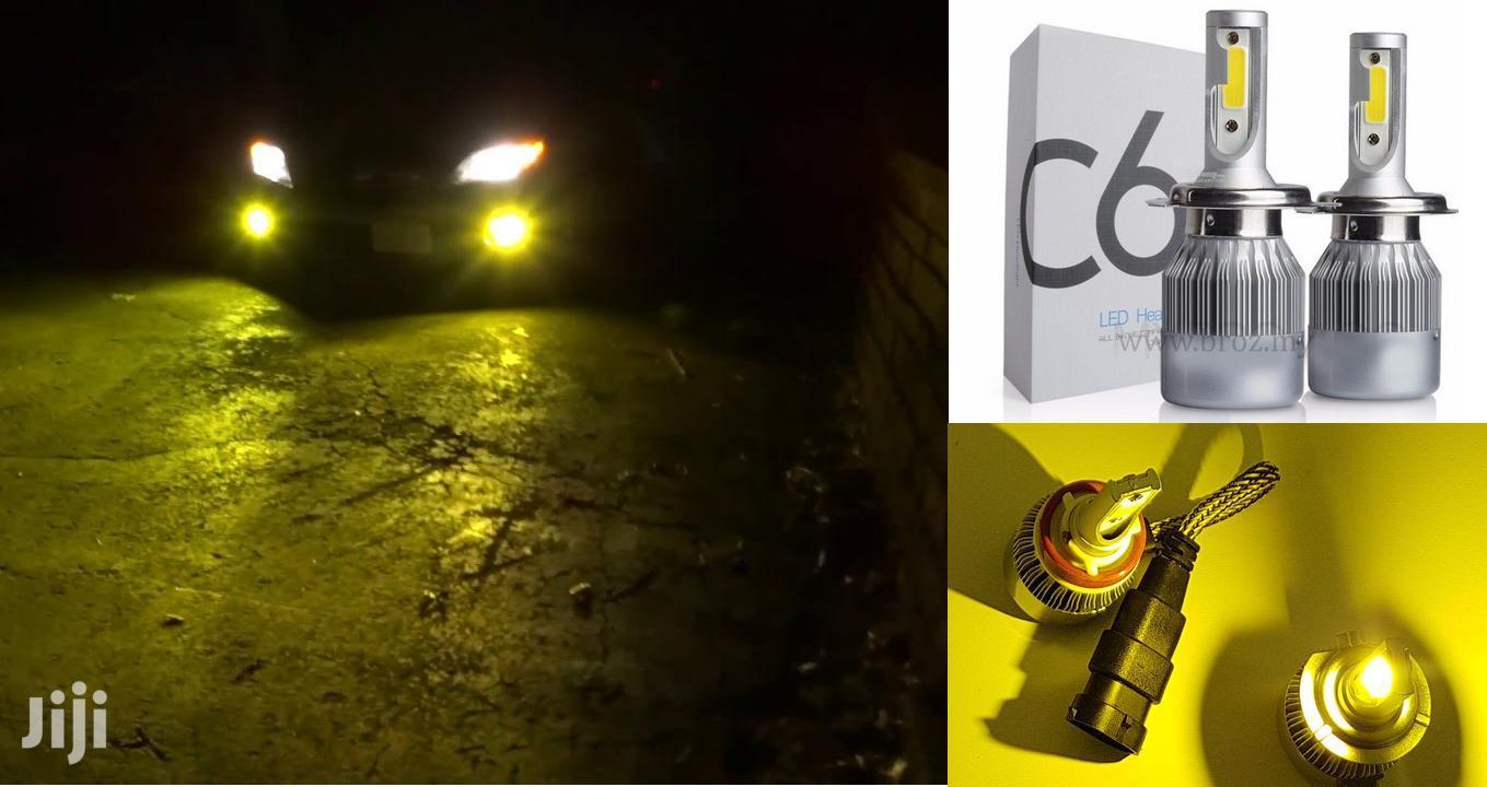 Yellow LED Bulbs: For Nissan/Toyota/Subaru/Honda/Mazda/Mitsubishi/Ford