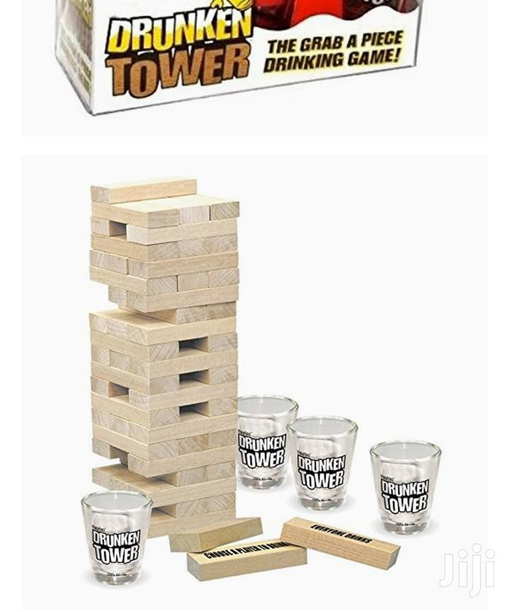 Drunken Jenga Game