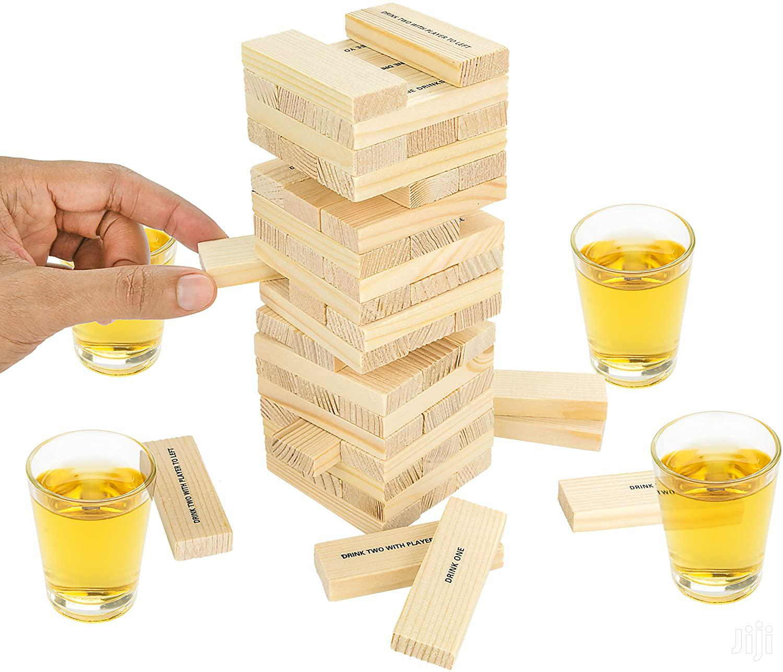 "Drunken ""JENGA BLOCK"" Tower Adult Drinking Game | Toys for sale in Nairobi Central, Nairobi, Kenya"