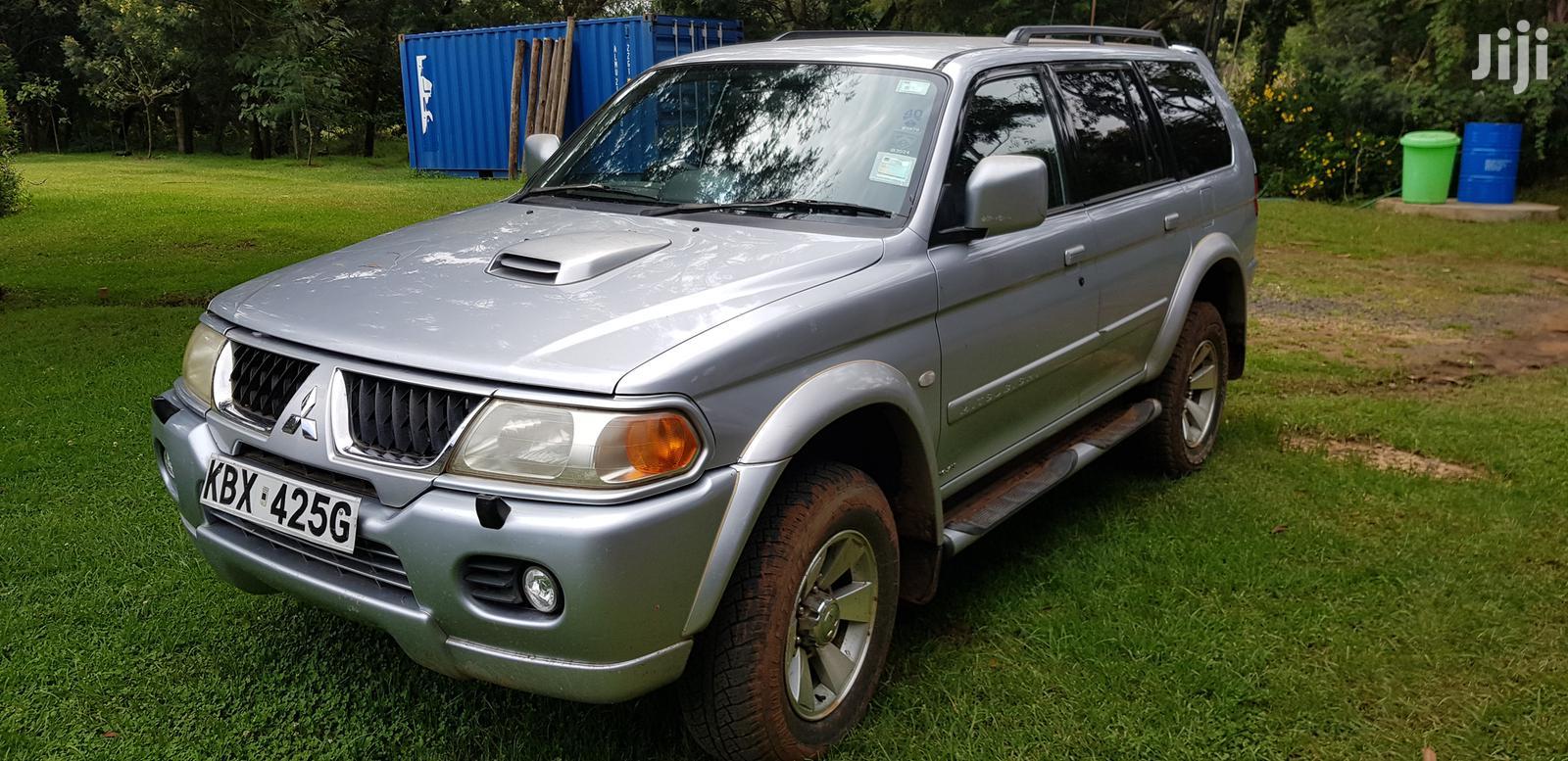 Mitsubishi Shogun 2006 Silver
