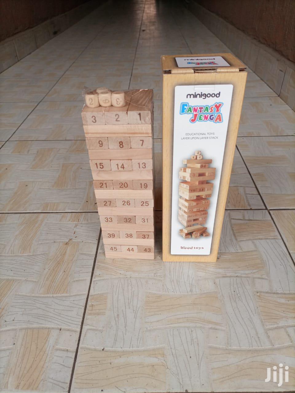 Jenga Block Tower | Books & Games for sale in Nairobi Central, Nairobi, Kenya