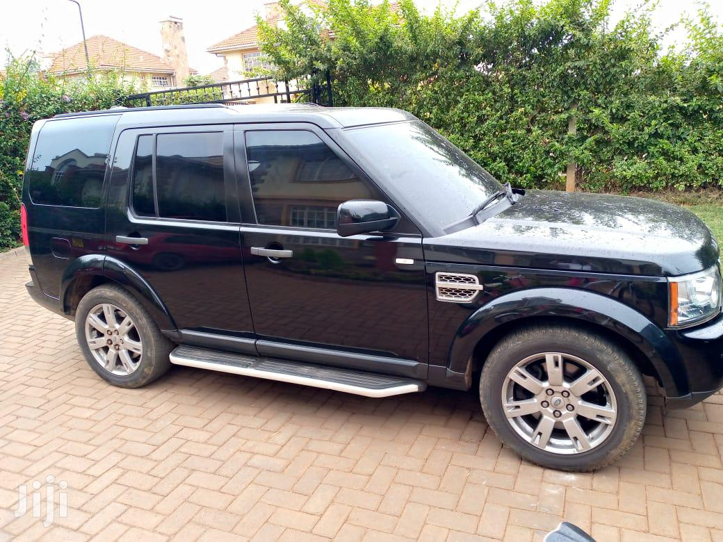 Land Rover Discovery 2010 Black
