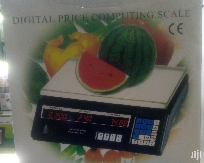 Digital Scale/Digital Weighing Scale Flat Top