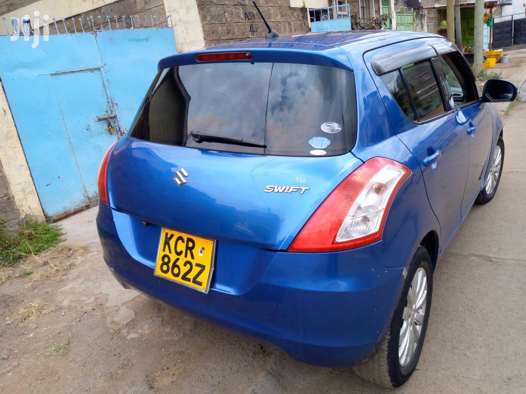 Suzuki Swift 2012 1.4 Blue | Cars for sale in Komarock, Nairobi, Kenya