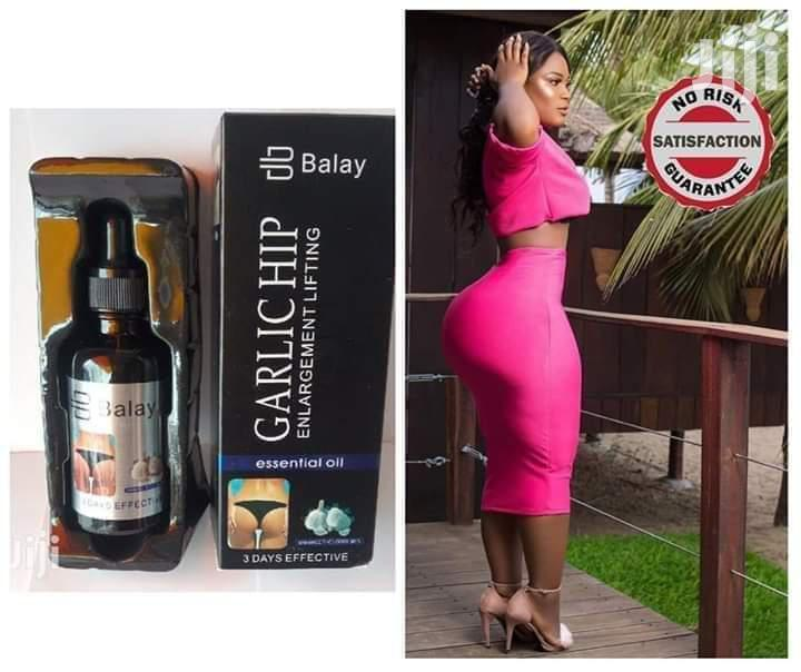 Balay Garlic Hip Enhancement Lifting Essential Oil | Sexual Wellness for sale in Nairobi Central, Nairobi, Kenya