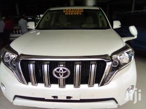 Toyota Land Cruiser Prado 2015 White | Cars for sale in Mombasa, Mvita