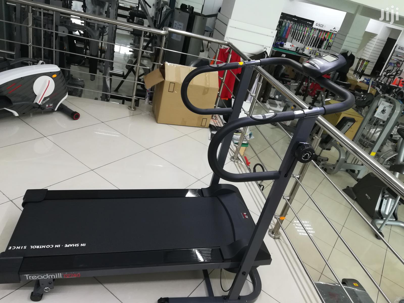 New Magnetic Treadmill