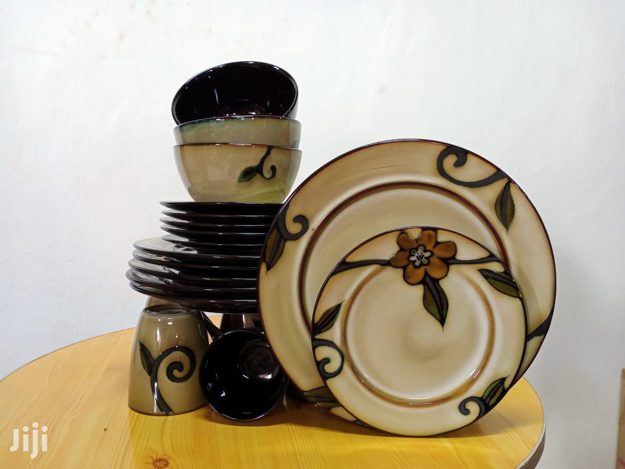 24pc Ceramic Dinner Set/Dinner Set/Unique Dinner Set | Kitchen & Dining for sale in Nairobi Central, Nairobi, Kenya