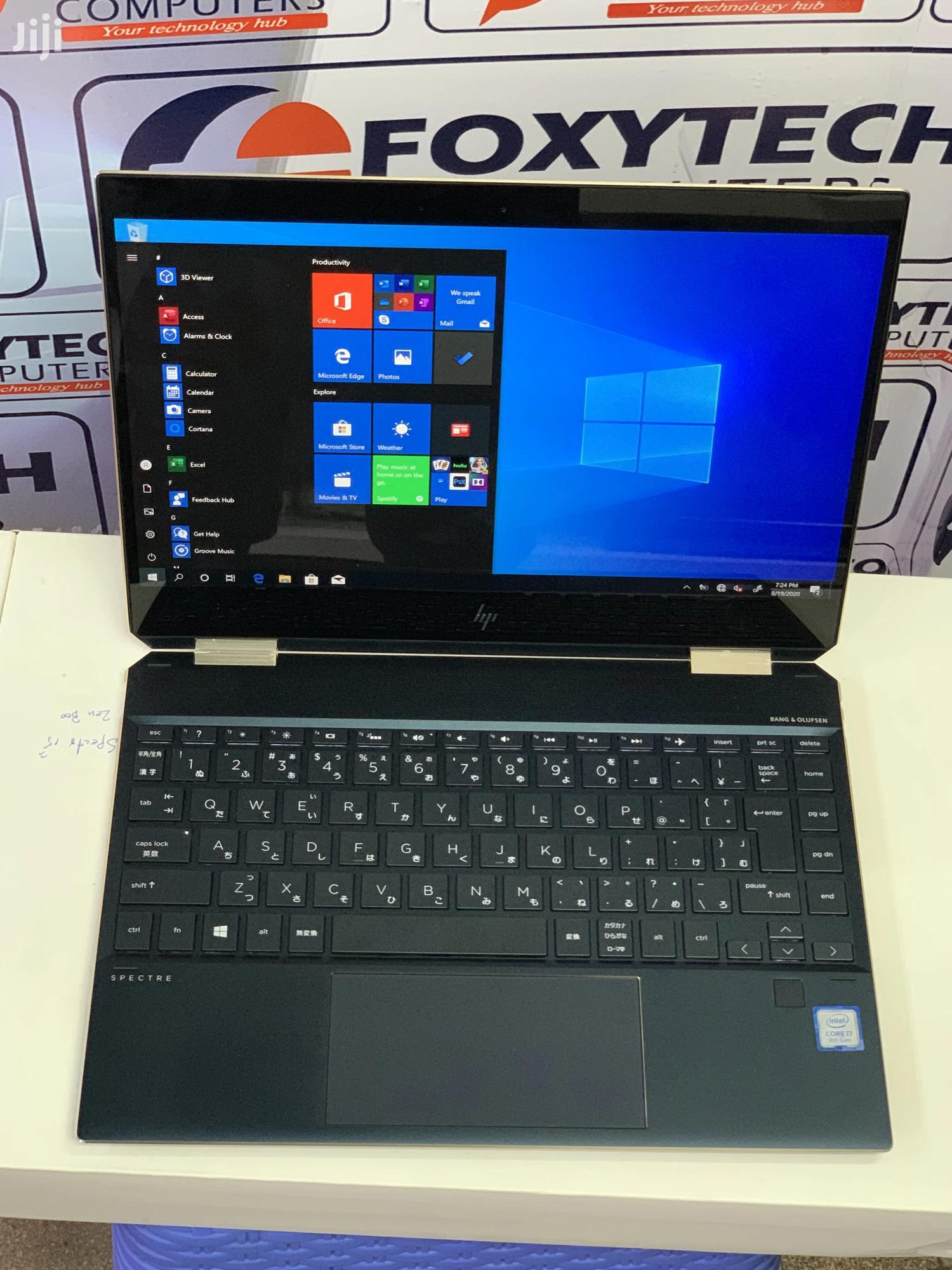 Laptop HP Spectre X360 13 16GB Intel Core I7 SSD 512GB