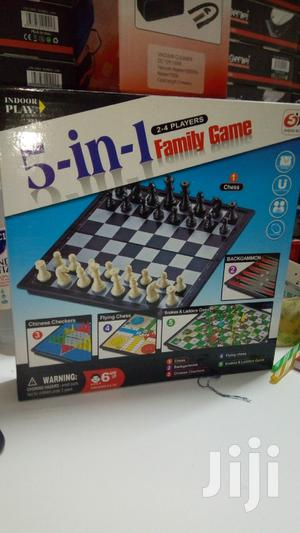 5 in 1 Family Game With Snake and Radder   Books & Games for sale in Nairobi, Nairobi Central