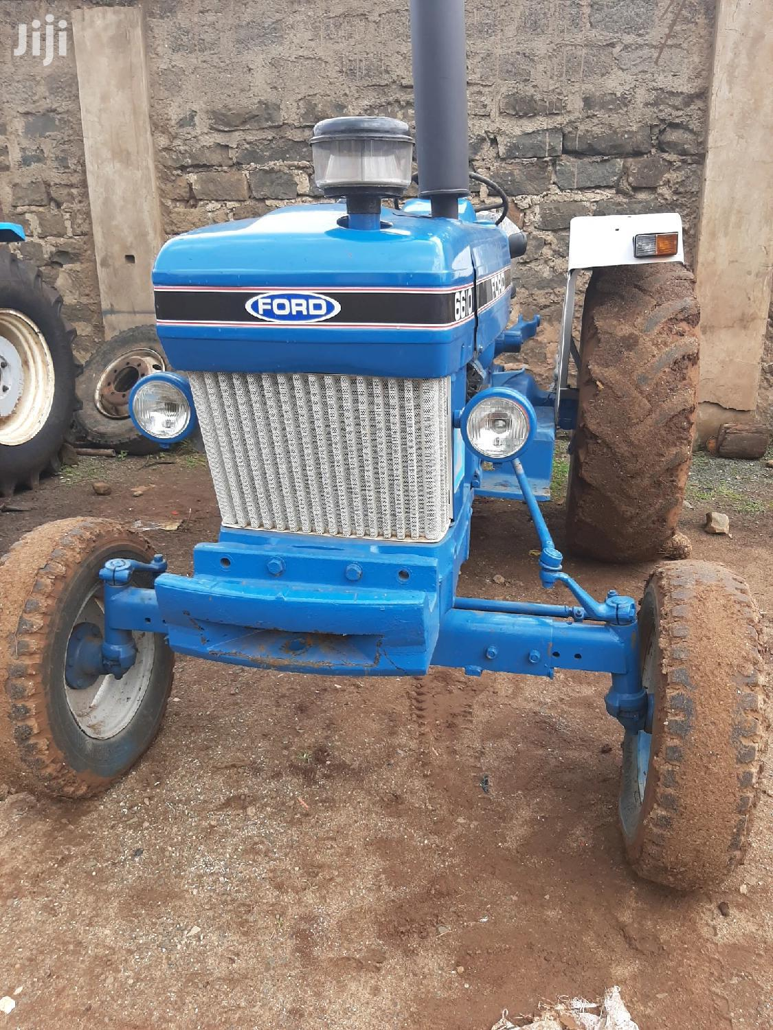 Archive: Tractor Ford 6610 1995 Blue