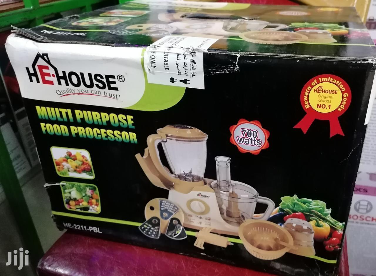 HE House Multi-Purpose Food Processor   Kitchen Appliances for sale in Nairobi Central, Nairobi, Kenya