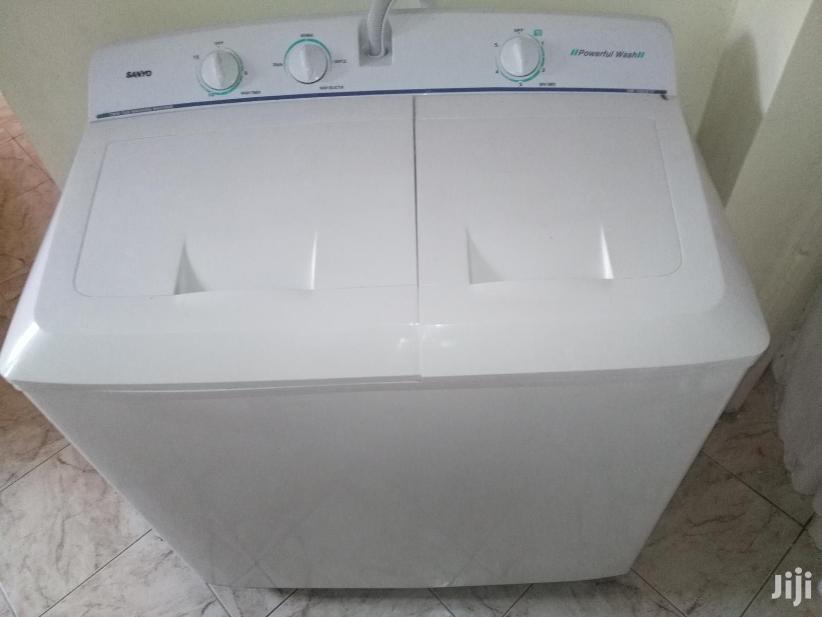 Archive: Sanyo Twin Tub Washing Machine