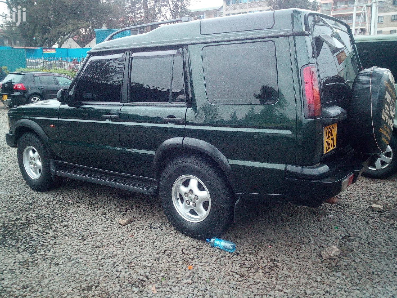Archive: Land Rover Freelander 2002 Green