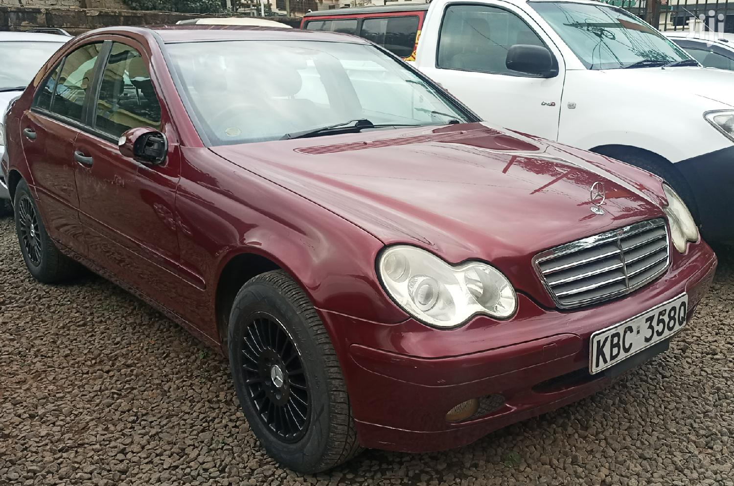 Mercedes-Benz C180 2003 Red | Cars for sale in Nairobi Central, Nairobi, Kenya