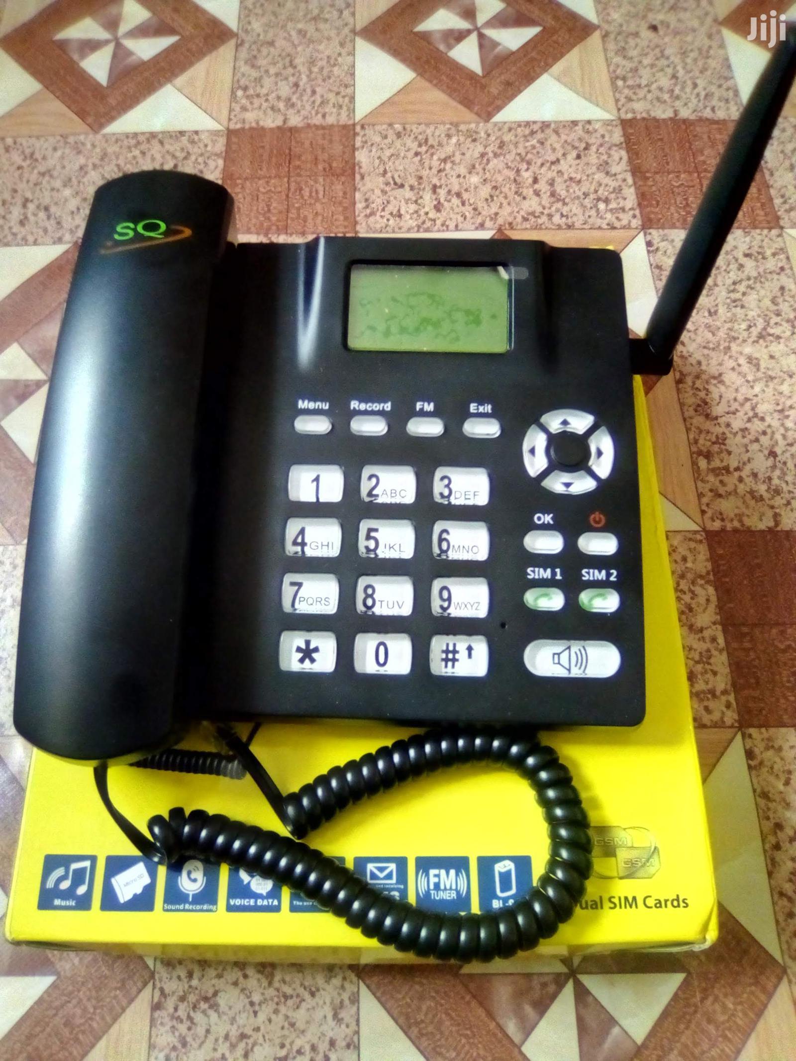 Archive: Home/Office Desktop Mobile Phone Black