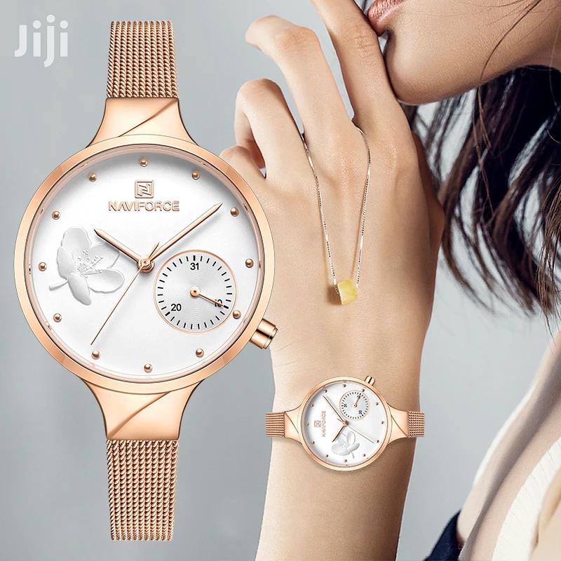 Ladies Gift Calendar Wrist Watch