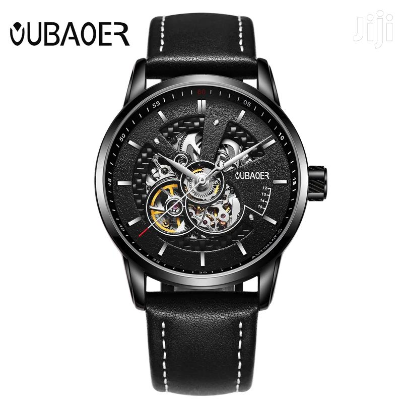 Men's Automatic Mechanical Self-Wind Watch