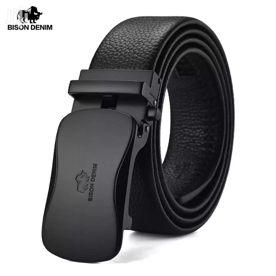 Men's Belt Genuine Leather