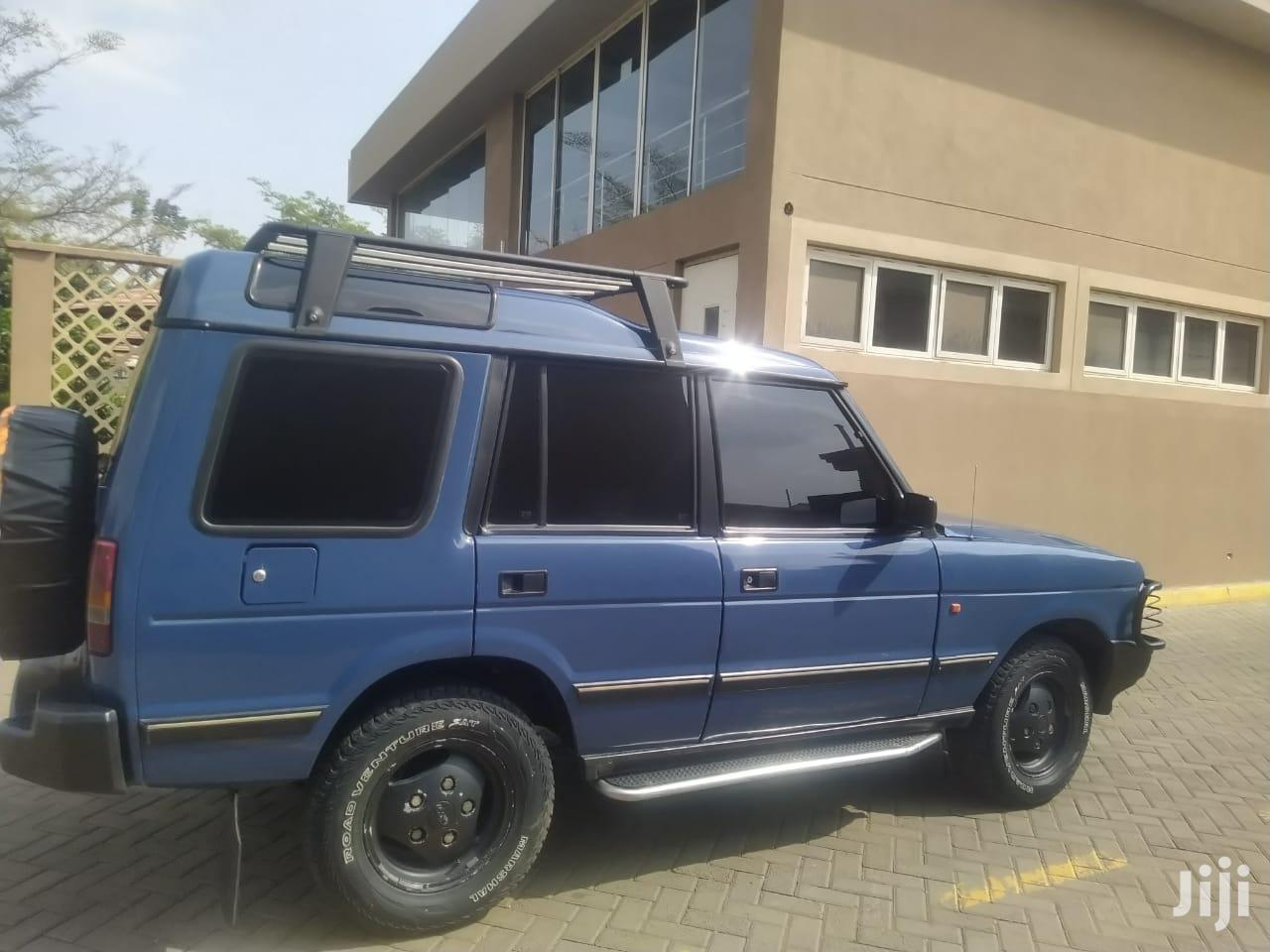 Archive: Land Rover Discovery 1993 Blue