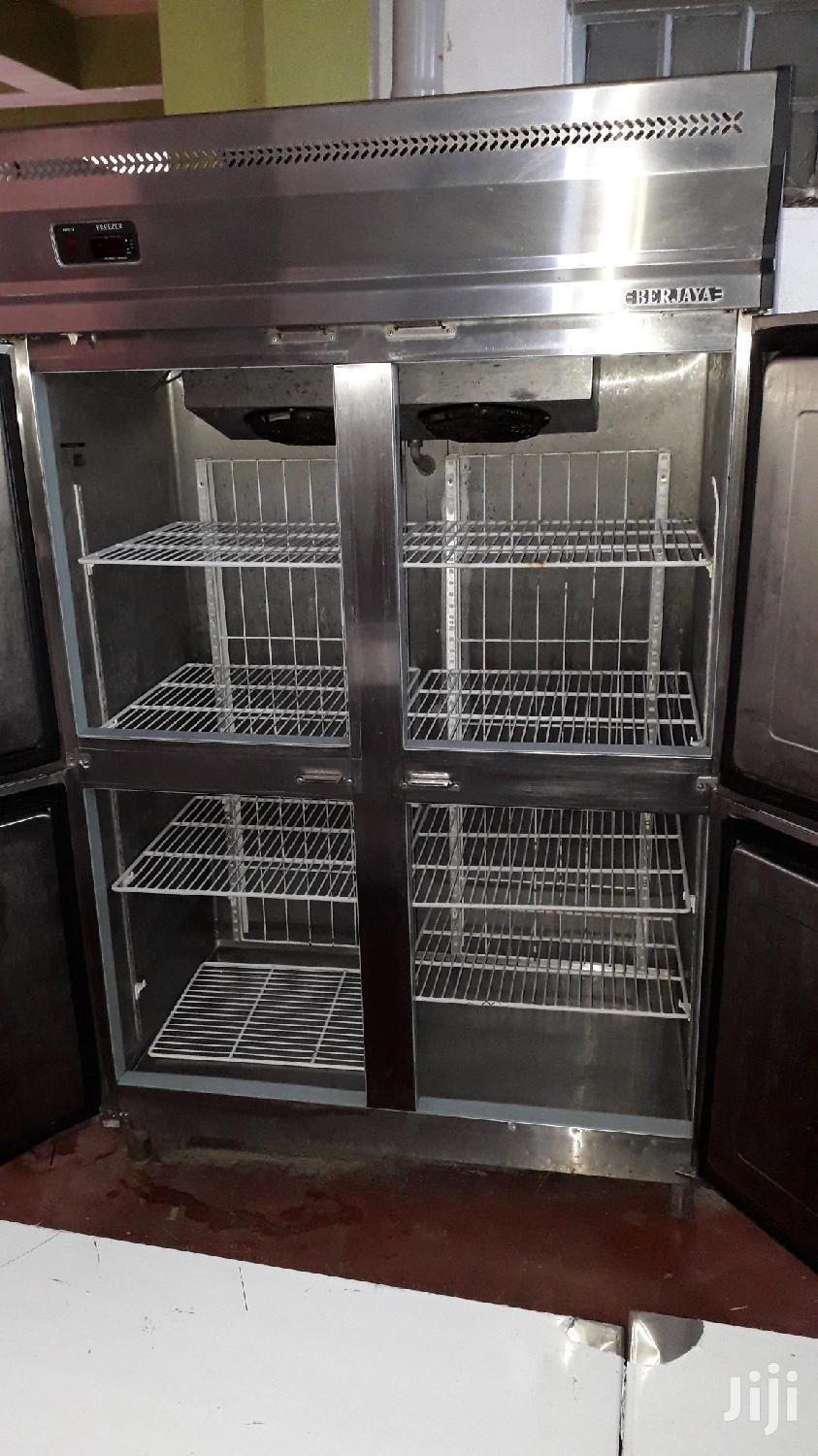 Archive: Commercial Stainless Steel Freezer
