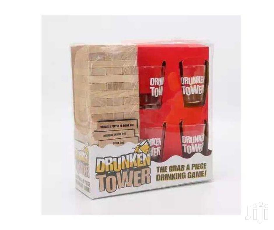 Jenga Drunken Tower , Drinking Game With Drinking Glasses | Books & Games for sale in Nairobi Central, Nairobi, Kenya