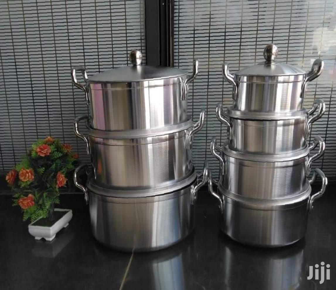 14 Pcs Aluminium Stainless Steel