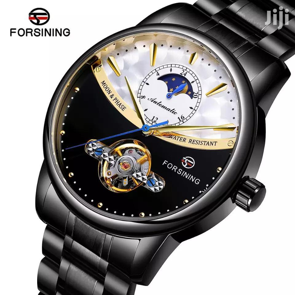 Men's Automatic Mechanical Self-Wind Watch