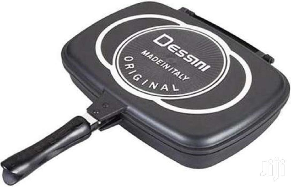 Archive: Dessini Two-sided Double Grill Non-stick Pressure Pan 36cm
