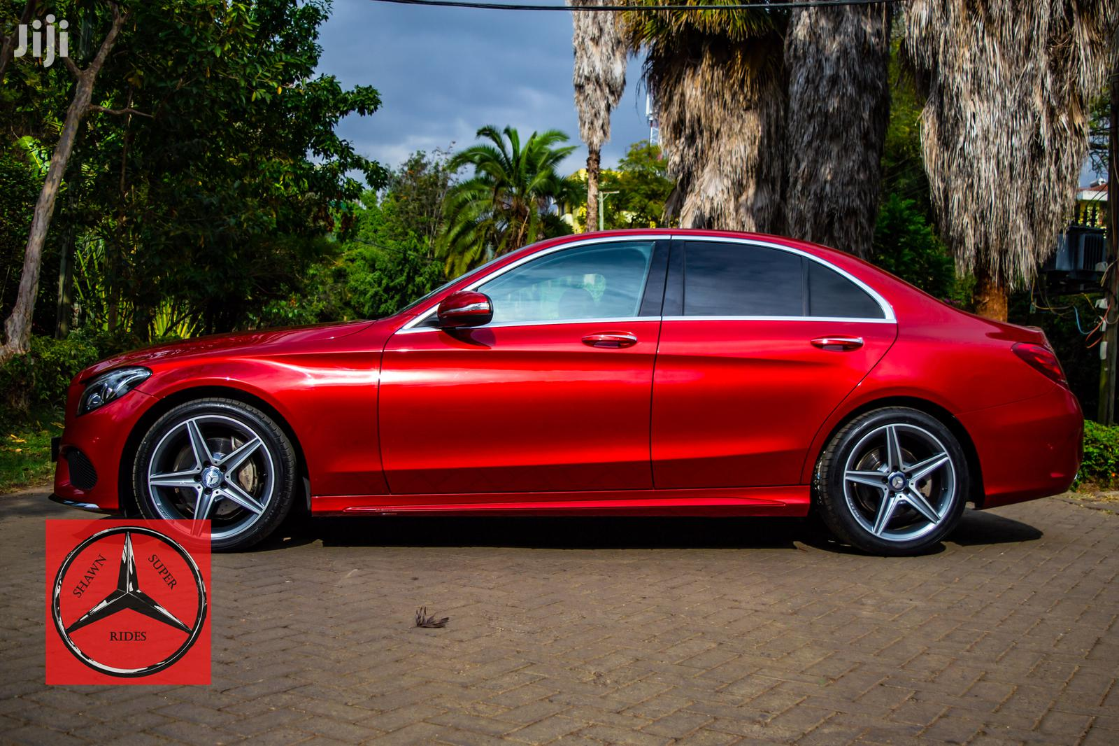 Mercedes-Benz C200 2015 Red | Cars for sale in Kilimani, Nairobi, Kenya
