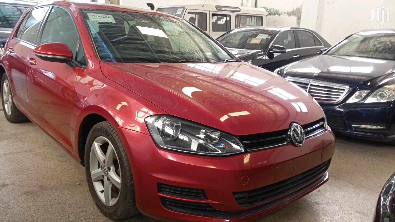 Volkswagen Golf 2013 Red | Cars for sale in Mvita, Mombasa, Kenya